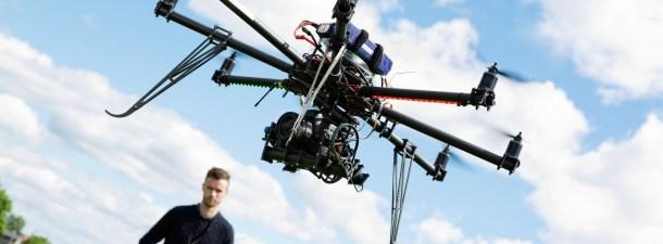 Un dron sobrevuela el Amazonas