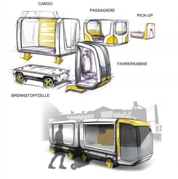 transporte modular