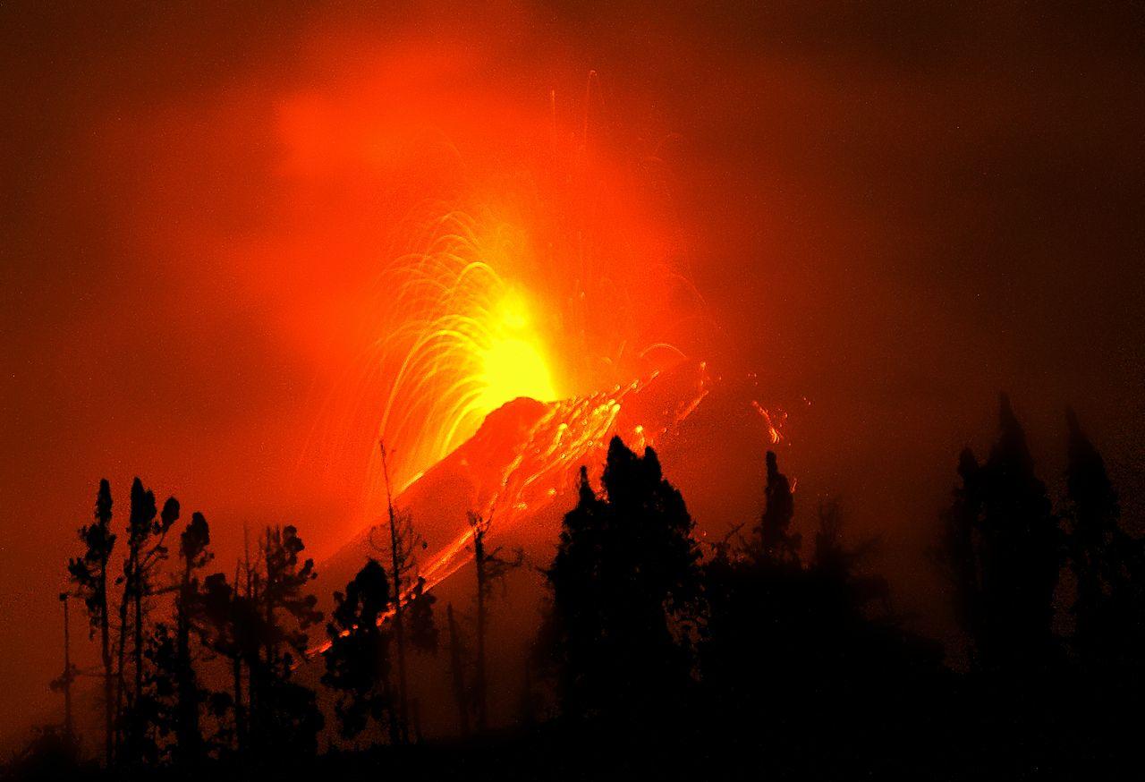 La supercomputación ayuda a visualizar una histórica erupción volcánica