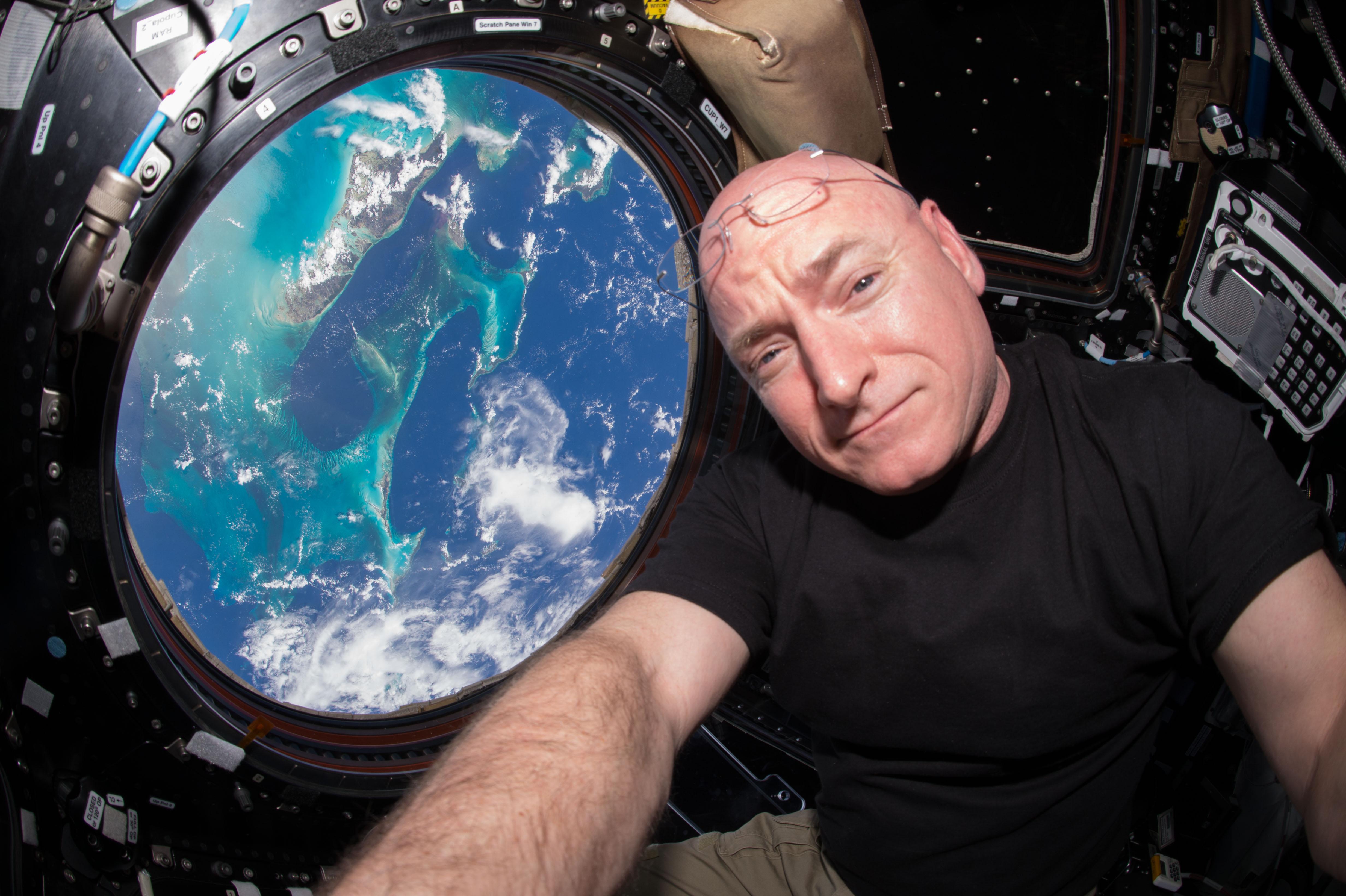 Scott Kelly y la experiencia de vivir un año en el espacio