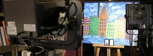 Google y su cámara para bucear en la historia del arte