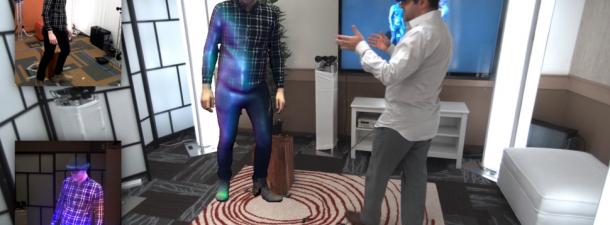Holoportation muestra cómo HoloLens puede revolucionar las telecomunicaciones