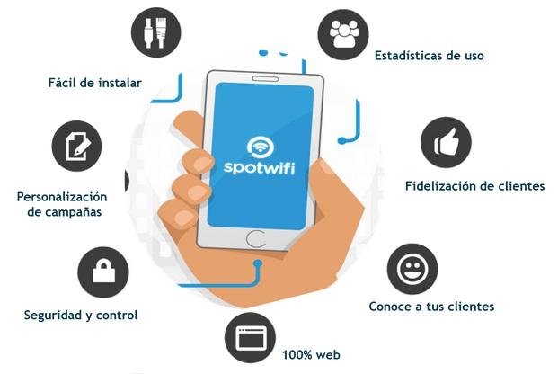 """""""Spotwifi"""", un servicio para digitalizar el punto de venta de las pymes"""