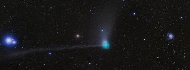 El cometa que pasará más cerca de la Tierra desde 1770