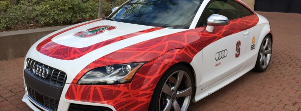 Shelley, el coche autónomo de Stanford que pasa de los 180 km/h