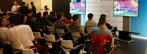 """Movistar + y Samsung emitieron """"El Clásico"""" en Realidad Virtual"""