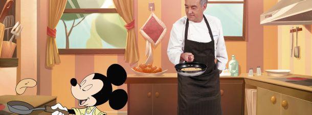 """""""Te cuento en la cocina"""" un proyecto multiplaforma de Ferran Adrià y Disney"""