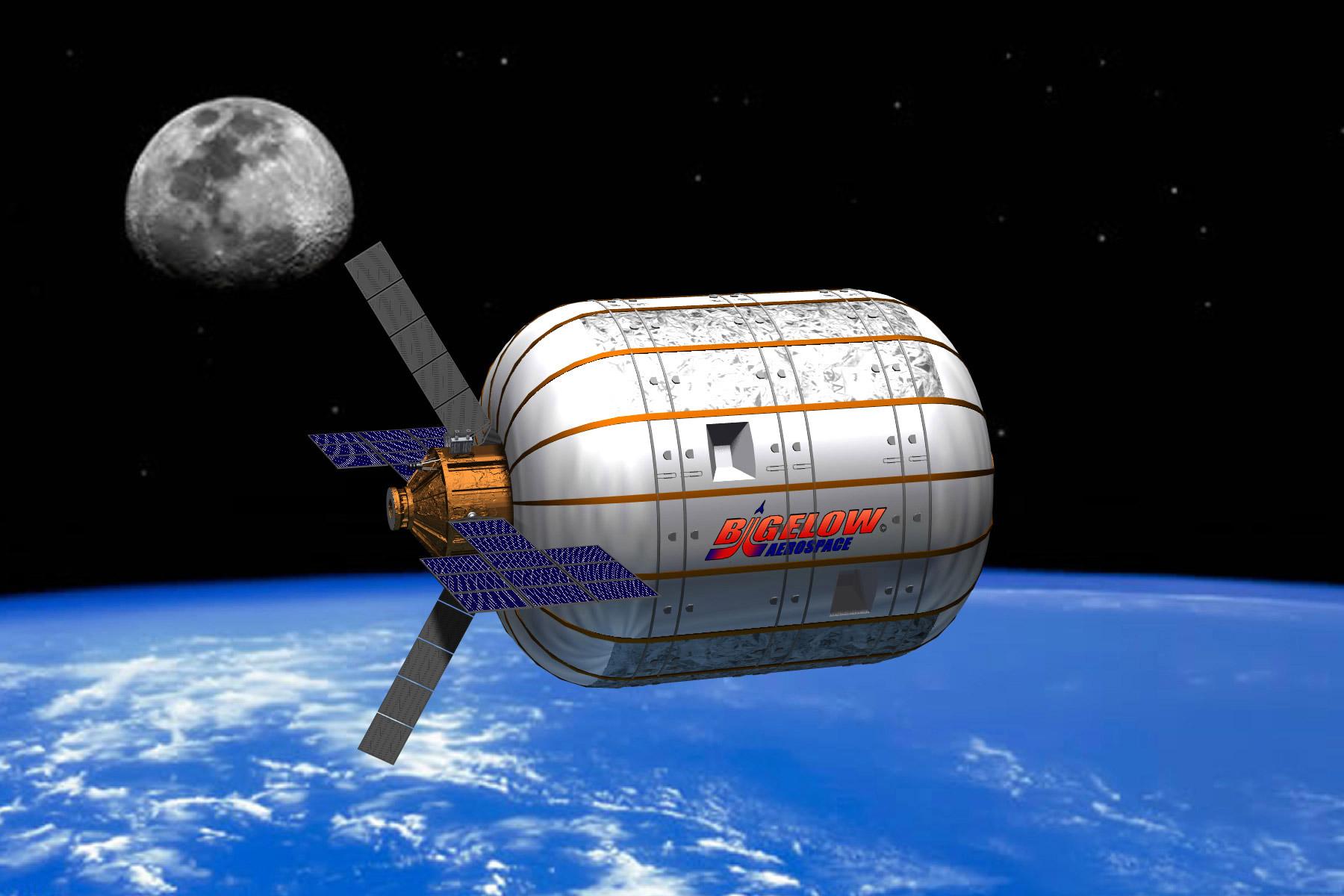 El primer hotel espacial podría llegar en 2020 gracias a los hábitats hinchables