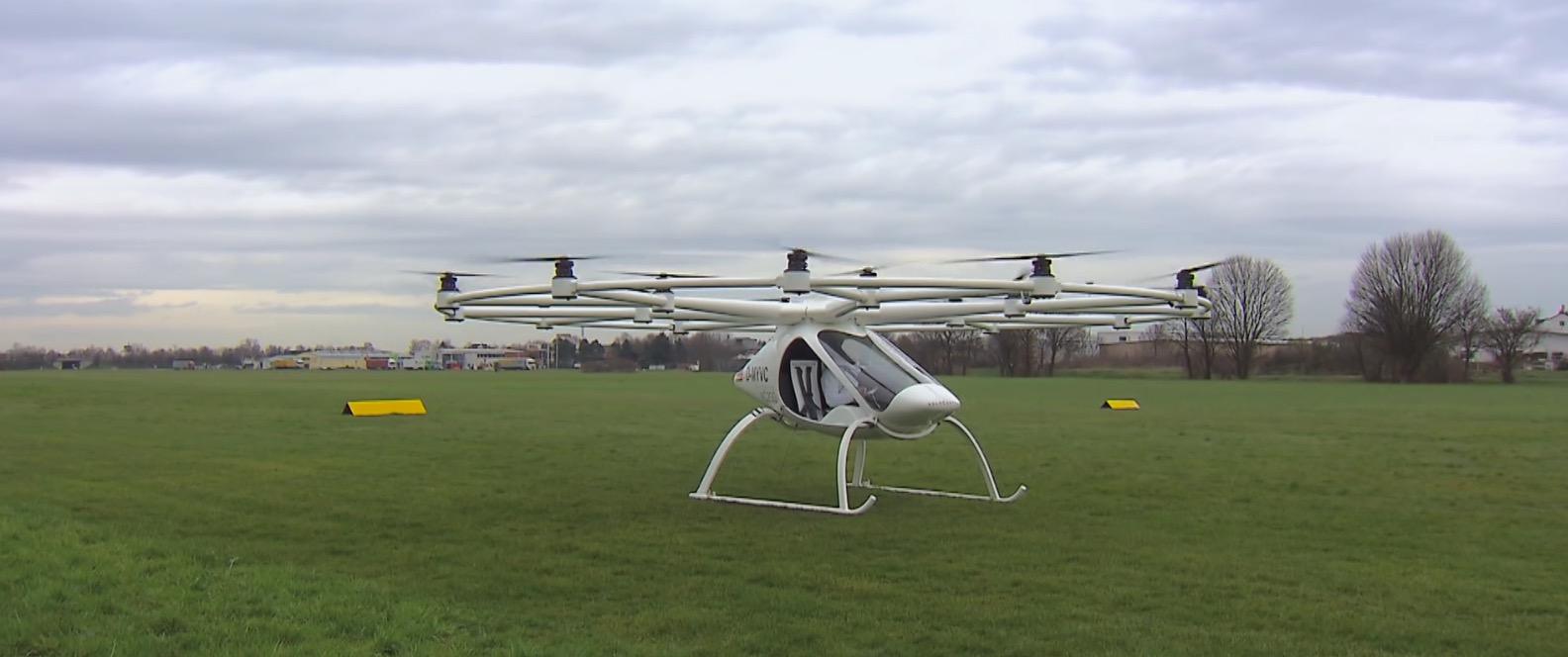 Multicópteros eléctricos, ¿el futuro del transporte urbano?