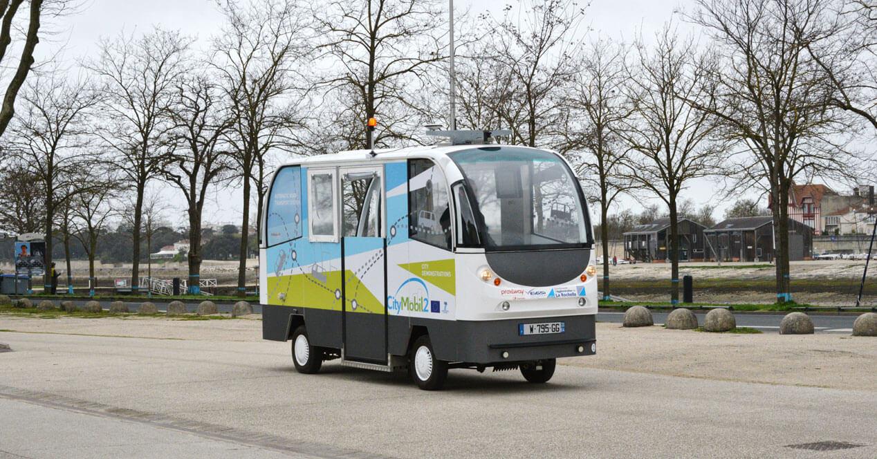 San Sebastián utiliza los primeros autobuses sin conductor