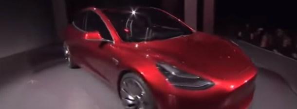 """Tesla lanza el """"low cost"""" de la versión Model 3"""