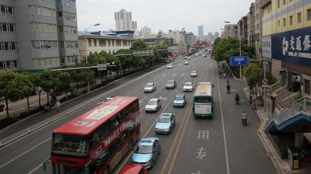 Coche autónomo en China