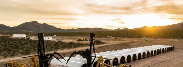 Hyperloop pasa su primera prueba de propulsión en abierto