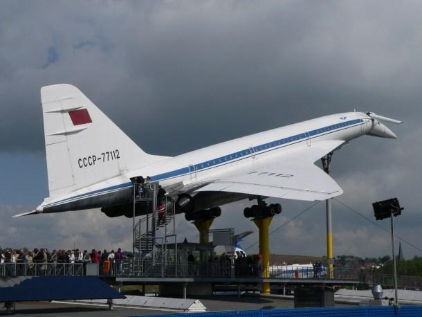 Tupolew Tu-144 Technik Museum Sinsheim