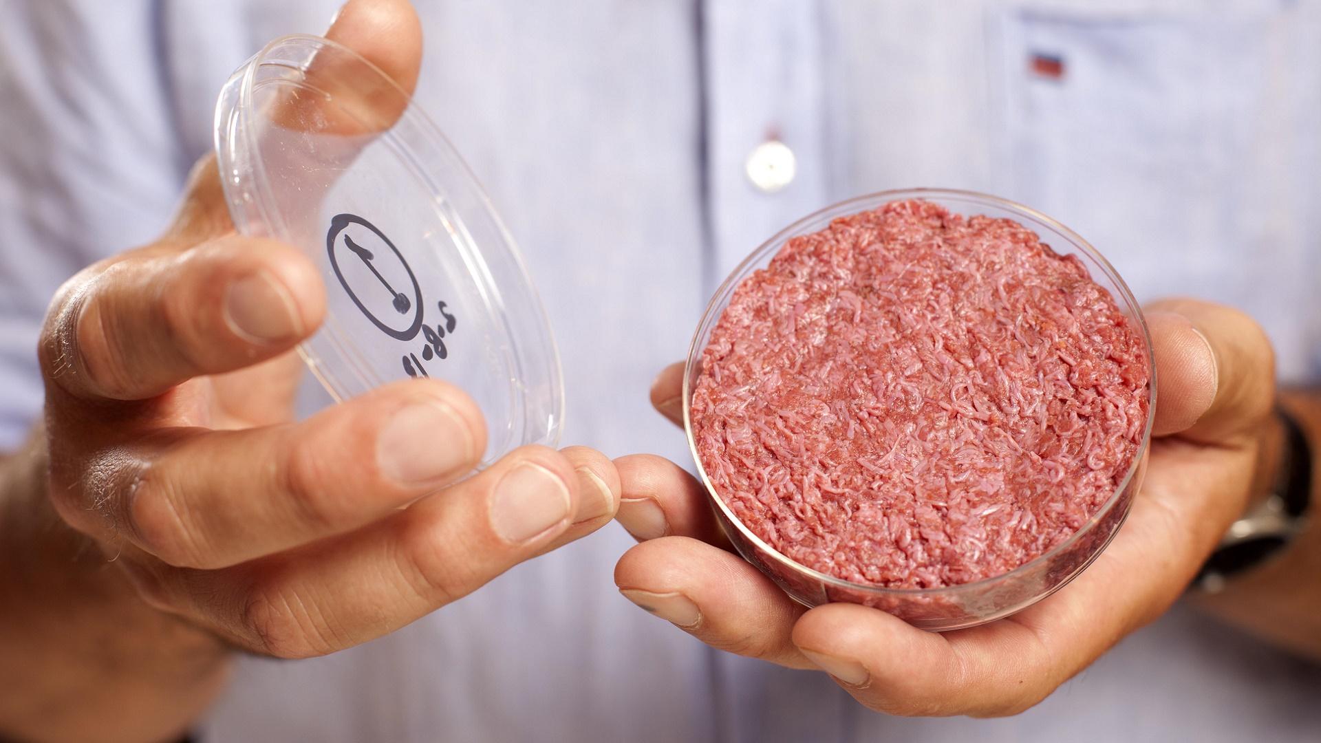 ¿Es importante que la carne falsa esté en los eventos tecnológicos?