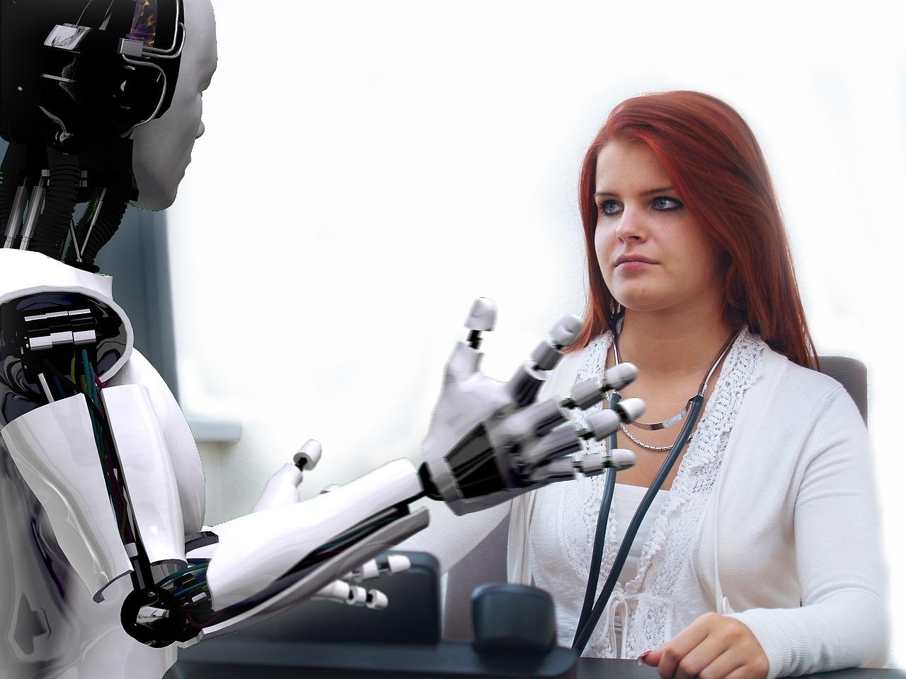 Los humanos también mandan a los robots al paro