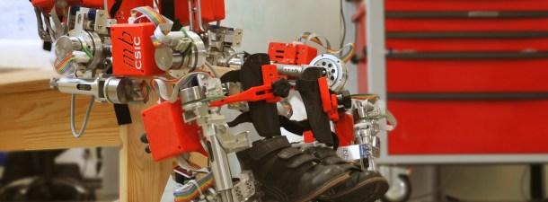 El CSIC diseña el primer exoesqueleto infantil contra la atrofia muscular espinal