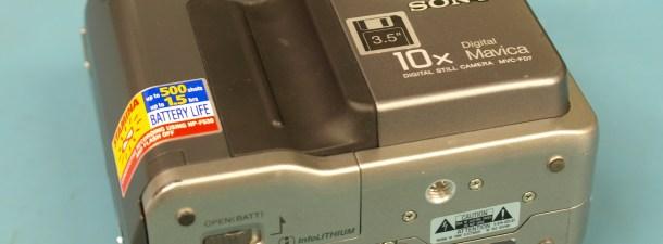Cuando las cámaras digitales no tenían tarjeta de memoria