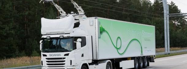 Suecia usa tecnología del siglo XIX para impulsar los camiones eléctricos