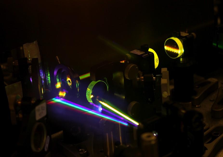 Los láseres como medio futuro para almacenar datos más rápido