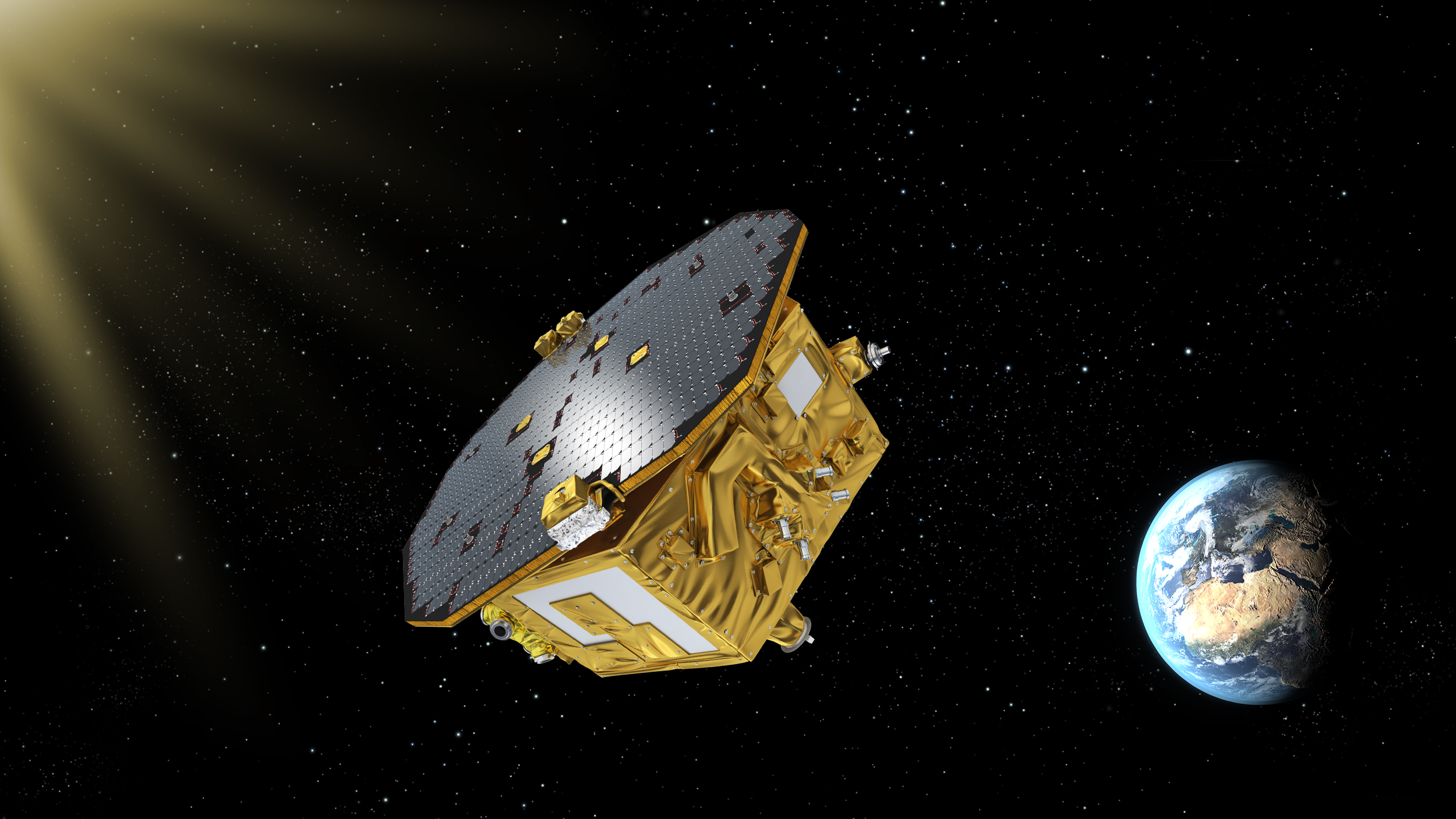 El proyecto espacial para detectar ondas gravitacionales presenta sus primeros resultados