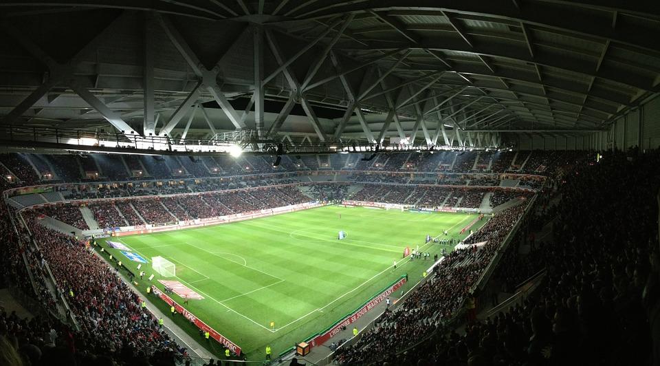 Así se está gestando el estadio de fútbol del futuro