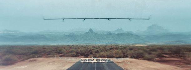 El primer vuelo de Aquila, el dron de Facebook para llevar Internet desde los aires