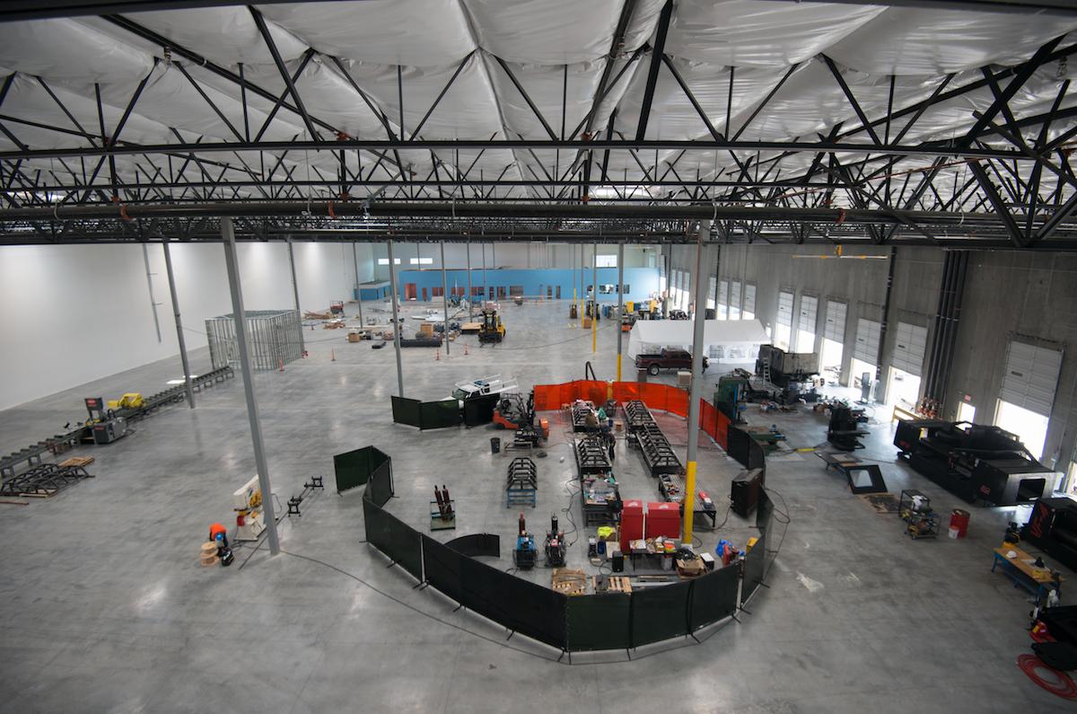 Hyperloop One abre una factoría para comenzar a producir prototipos