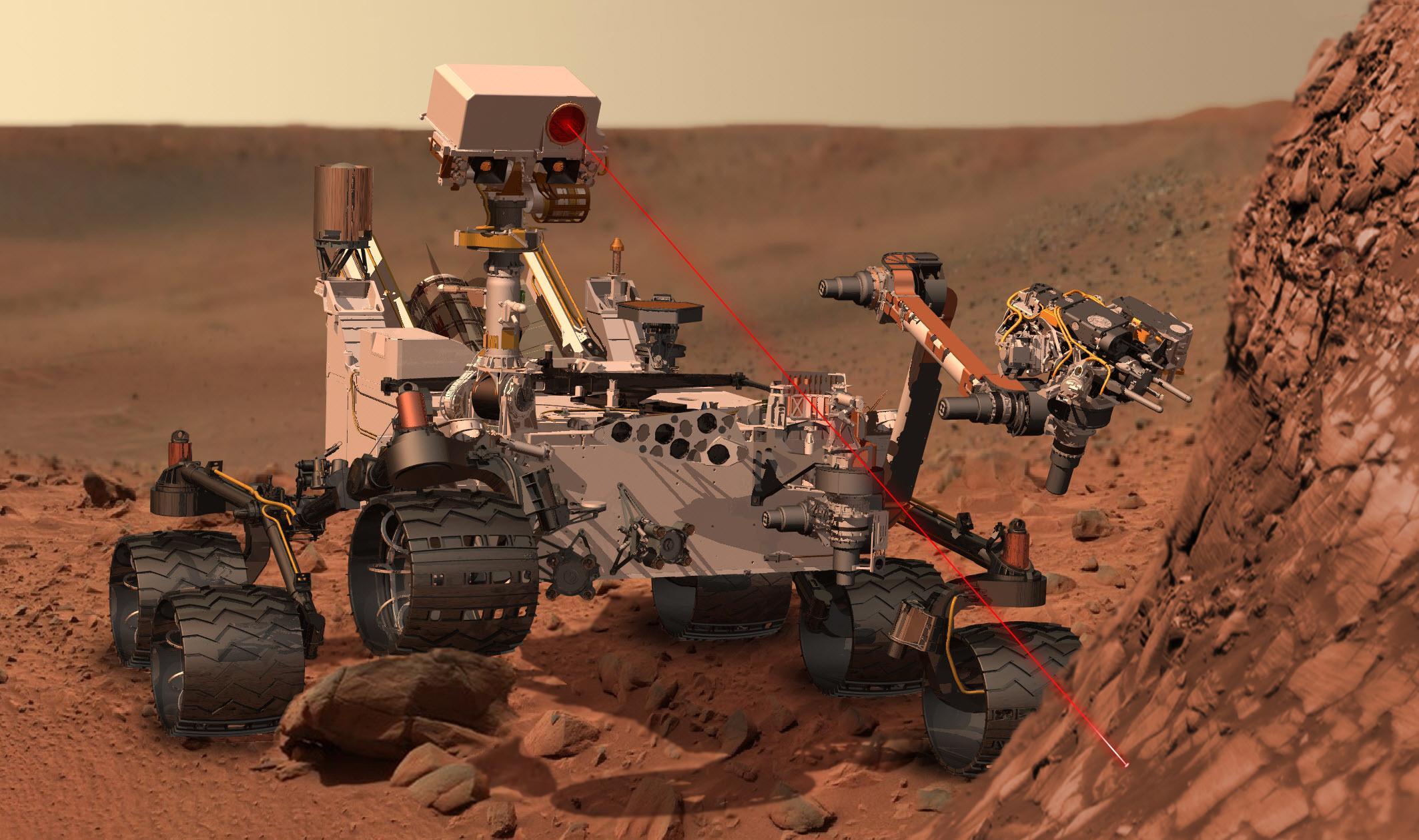 Curiosity, el primer robot completamente autónomo sobre Marte