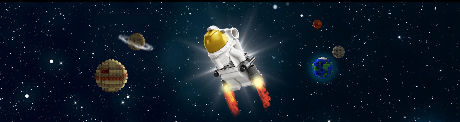 ¿Nos vamos de misión al espacio? ¿Nos vamos a aprender robótica?