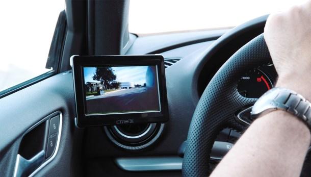 Espejos de los coches por cámaras
