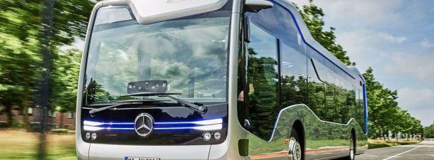 El autobús del futuro está muy presente