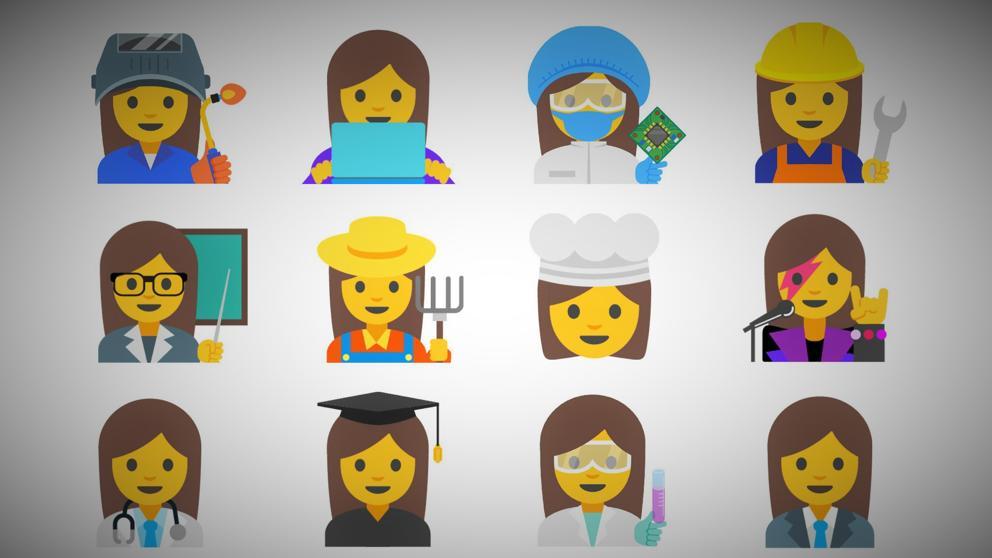 Emojis para acabar con la desigualdad