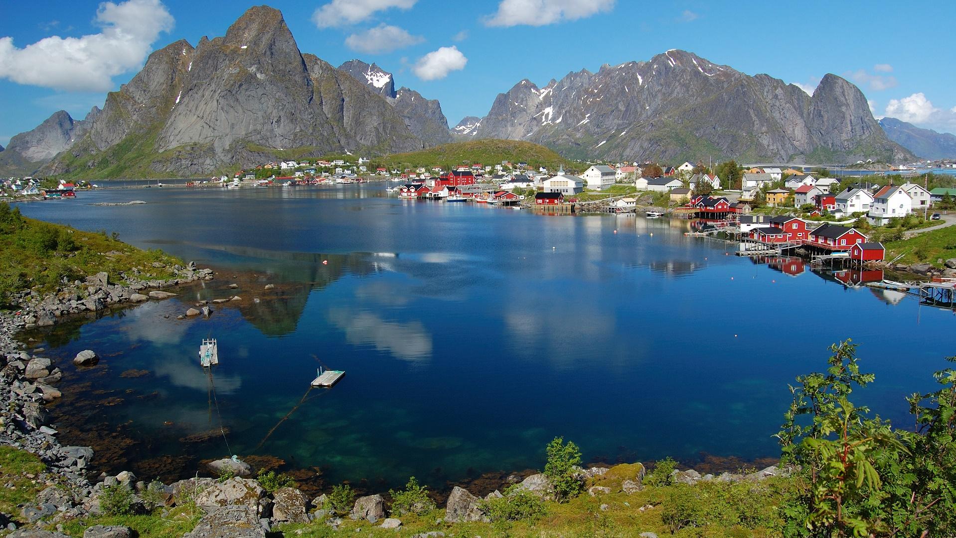 Noruega está construyendo túneles flotantes para mejorar sus comunicaciones