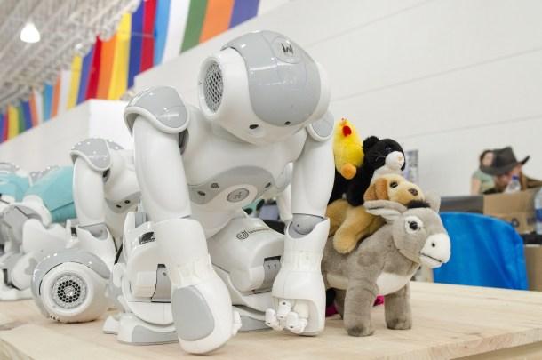 robots y humanos