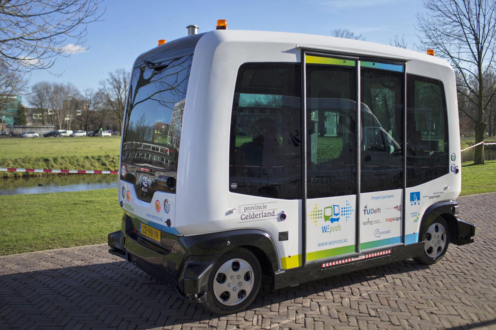 En algunas calles de Finlandia ya circulan autobuses autónomos eléctricos