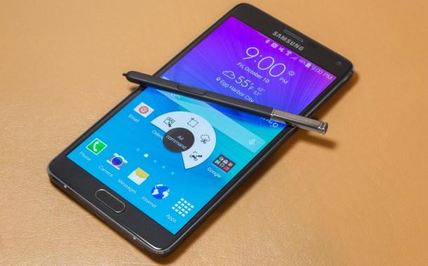 El Samsung Galaxy Note 4 fue el último en presentarse en IFA.