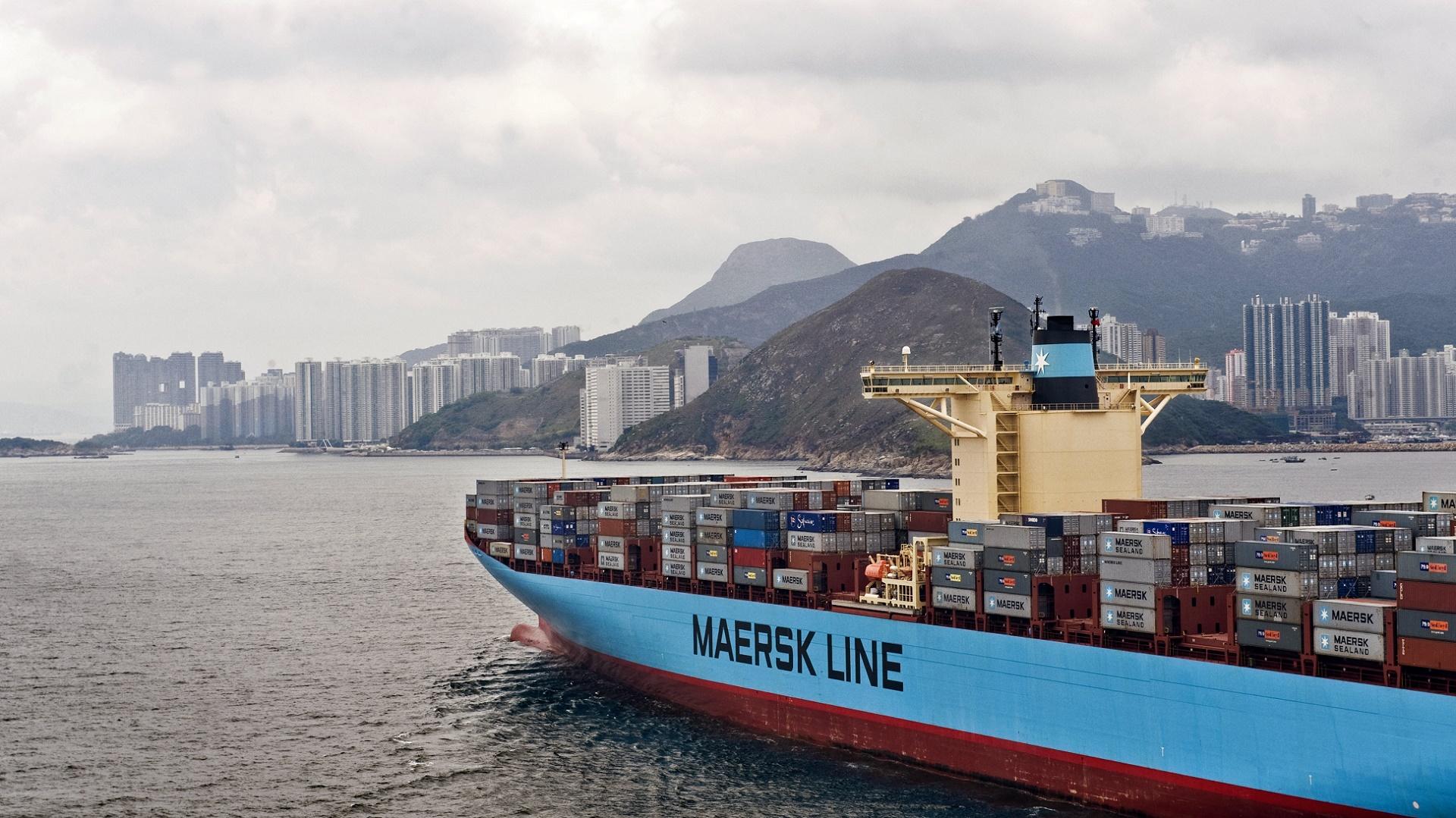 Innovación en el transporte de mercancías: Maersk usa Internet de las Cosas y drones
