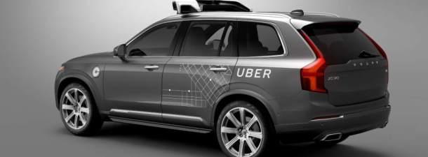 Uber se une a Volvo para desarrollar una flota de vehículos sin conductor