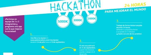 Join convoca un hackathon para mejorar el mundo a través de la tecnología