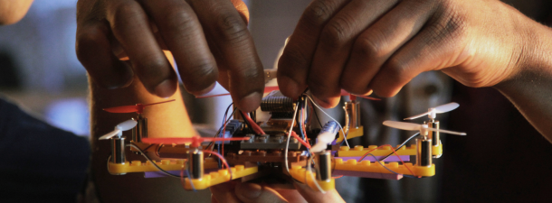 El mejor drone para niños se construye con piezas de LEGO
