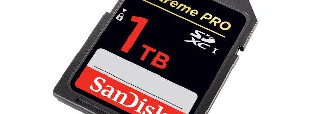 La tecnología para conseguir fabricar tarjetas SD de 1 TB
