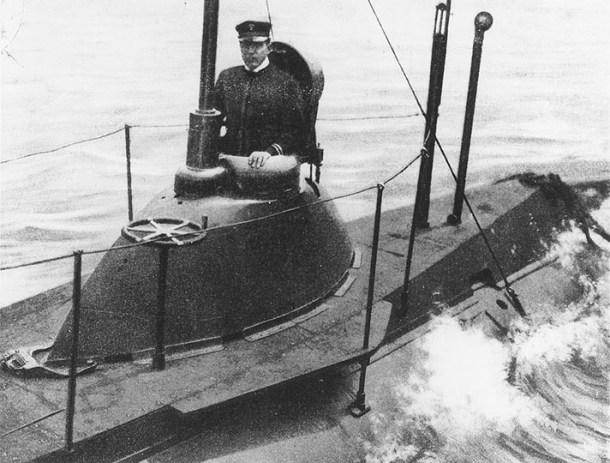 Inmersión de un submarino