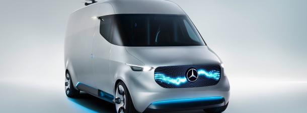 Mercedes ha diseñado unas furgonetas que lanzan drones de reparto