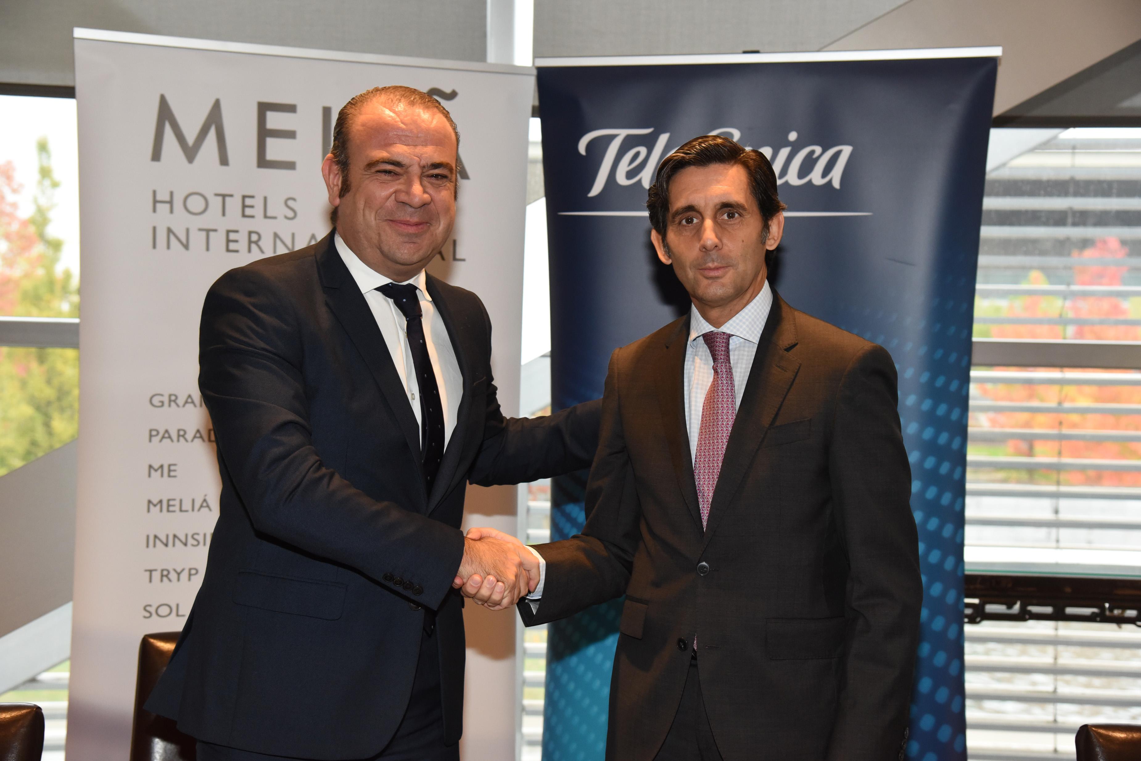 Telefónica se hace cargo de los servicios de operación de infraestructuras del Grupo Meliá en todo el mundo.