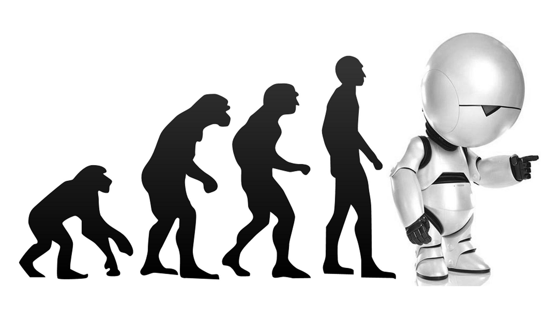 Estos robots se parecen descaradamente a seres humanos