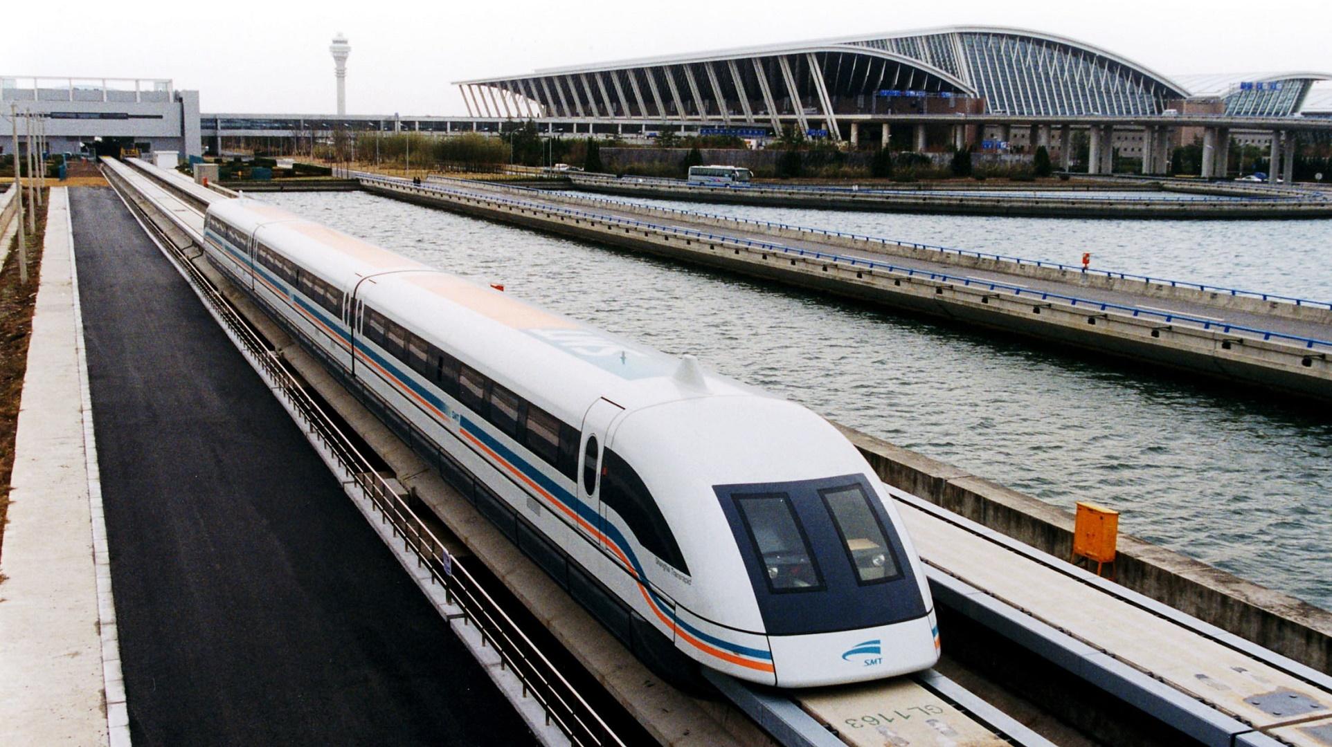 China presenta su tren maglev que viajará a 600 km/h