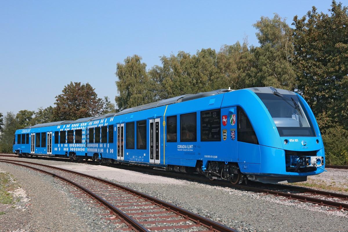 El primer tren de pasajeros movido por hidrógeno debutará en Alemania
