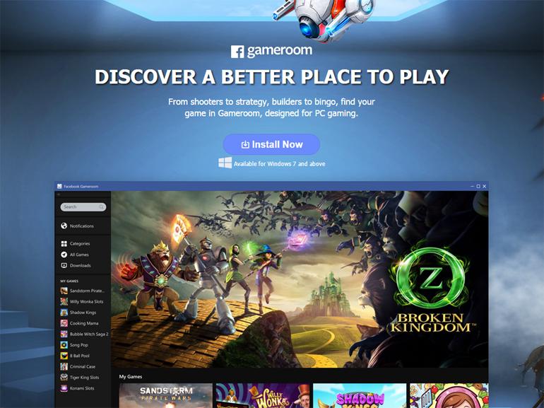 Gameroom: vuelven los videojuegos de Facebook