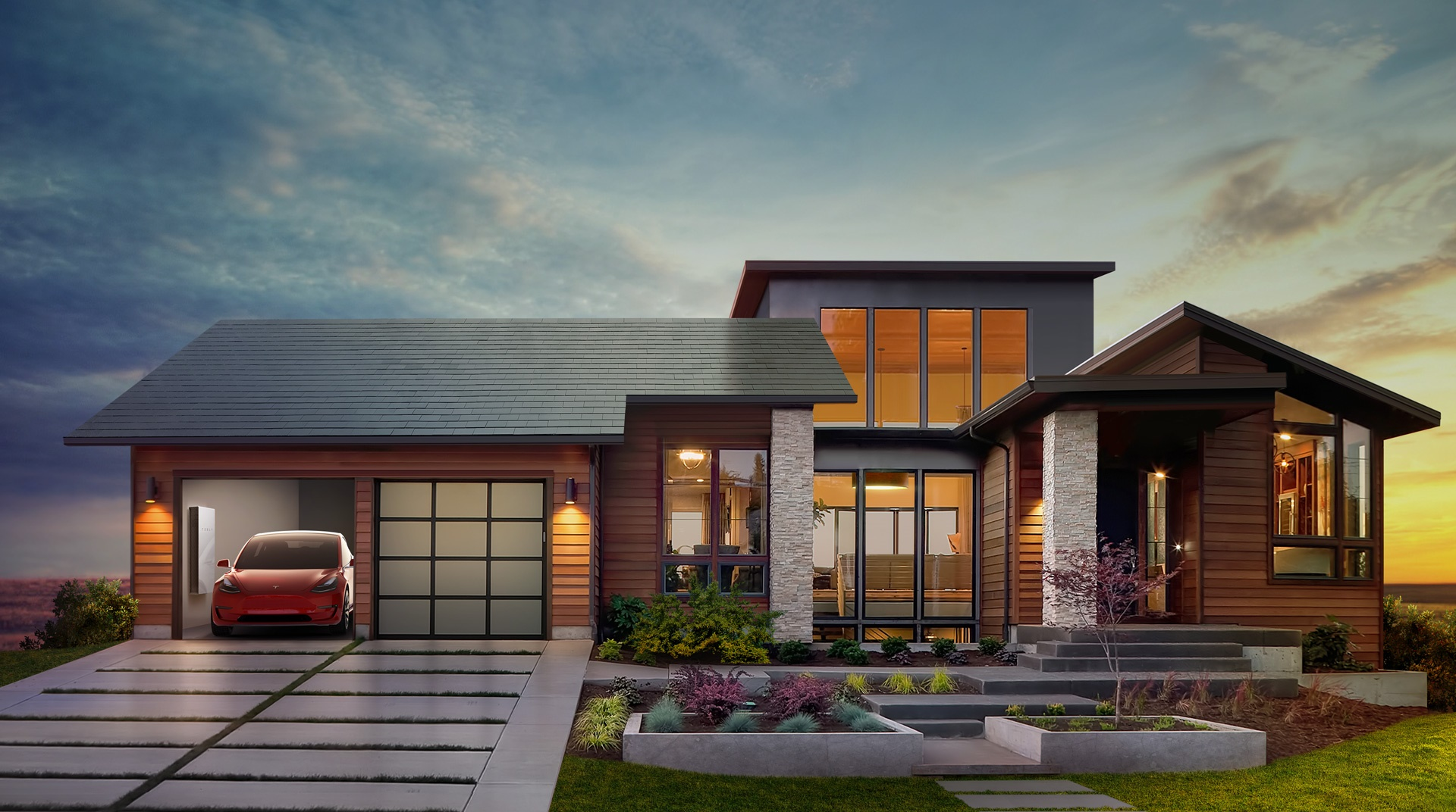 Por qué Elon Musk dice que su tejado solar costará menos que uno convencional